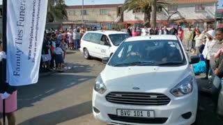 Residents bid farewell to Nahemia