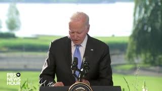 Another Scripted Biden Presser