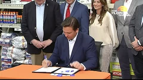 Governor DeSantis Signs Tax Relief Bill
