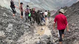 Tragedia en mina de Birmania, más de 160 muertos