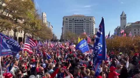 11/14/2020 - Washington, D.C. March For Trump