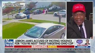 Leo Terrell Flames LeBron James Over Tweet Targeting Police Officer