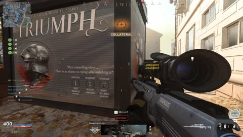 Call of Duty Snipping For The Win