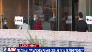 Ariz. lawmakers push for election transparency