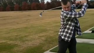 Guy flannel golf swing spin misses fail