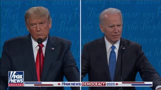 """Trump reminds biden """" who built the cages"""""""