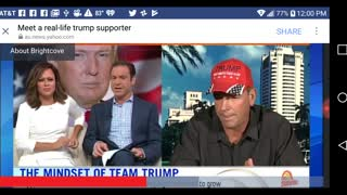 1st Australian TV interview before Trump took office.
