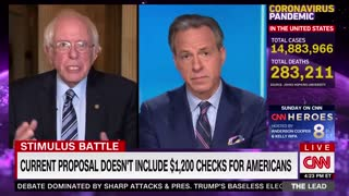 Sanders Admits Dems Politicized Coronavirus Relief