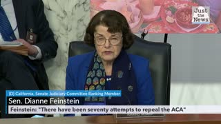 Statements from Sen. Graham and Sen. Feinstein during ACB confirmation hearing