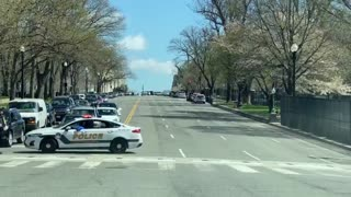 BREAKING - At least 3 shot according to the radio (including US Capitol police officers).