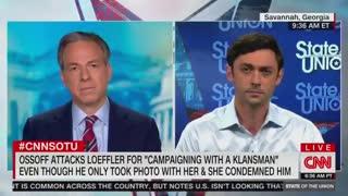 """""""That Wasn't True"""" - Even CNN Calls Out Jon Ossoff's Lies"""