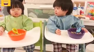 Funny Twin Babies Compilation 2021
