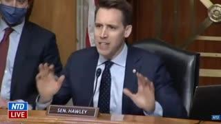 Senator Hawley speaks the Truth