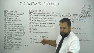 End Times Checklist!