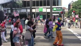 Leftists crash Straight Pride parade in Boston