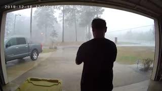 Tornado Tears Around the House