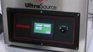 Ultravac 250 Vacuum Chamber Sealer Paired with Zebra 2D420 Label Printer