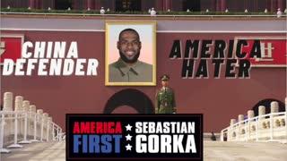 LeBron James: China Defender, America Hater. Victor Davis Hanson with Sebastian Gorka