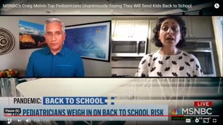 COVID - 5 PEDIATRICIANS UNANIMOUS WOULD SEND THEIR KIDS BACK TO SCHOOL