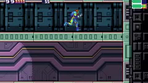 Messing with the SA-X in Metroid Fusion