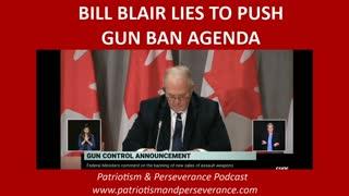 Bill Blair Lies About Canada's Worst Mass Shooting