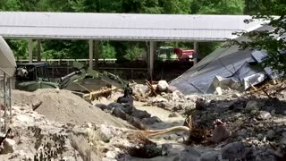 Germans count cost of deadly floods