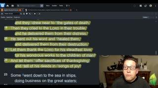 November 17 Morning Psalms and Prayer