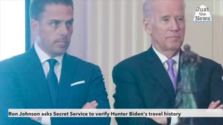 Ron Johnson asks Secret Service to verify Hunter Biden's travel history after email bombshell