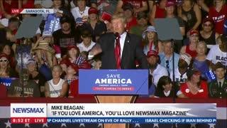 Donald Trump calls out fake news cameraman