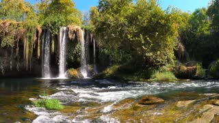 Amazing Nature _ Drone _ Waterfalls _ Aerial View