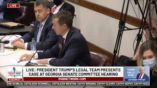 Witness #15 Speaks at GA Senate Committee Hearing on Allegations of Election Fraud. 12/03/20.