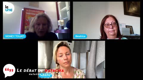 Maître Sidney Touati et le Béatrice Milbert - Le débat de Natacha - 22 10 2021