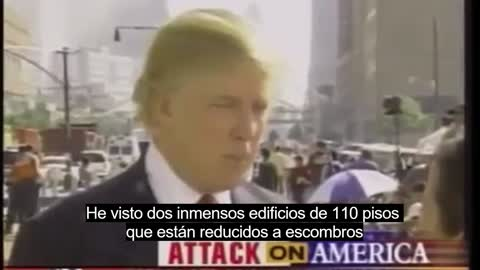 """""""You Will Never Be Forgotten"""" - President Trump 9/11 Memorial Video (With Spanish Subtitles)"""