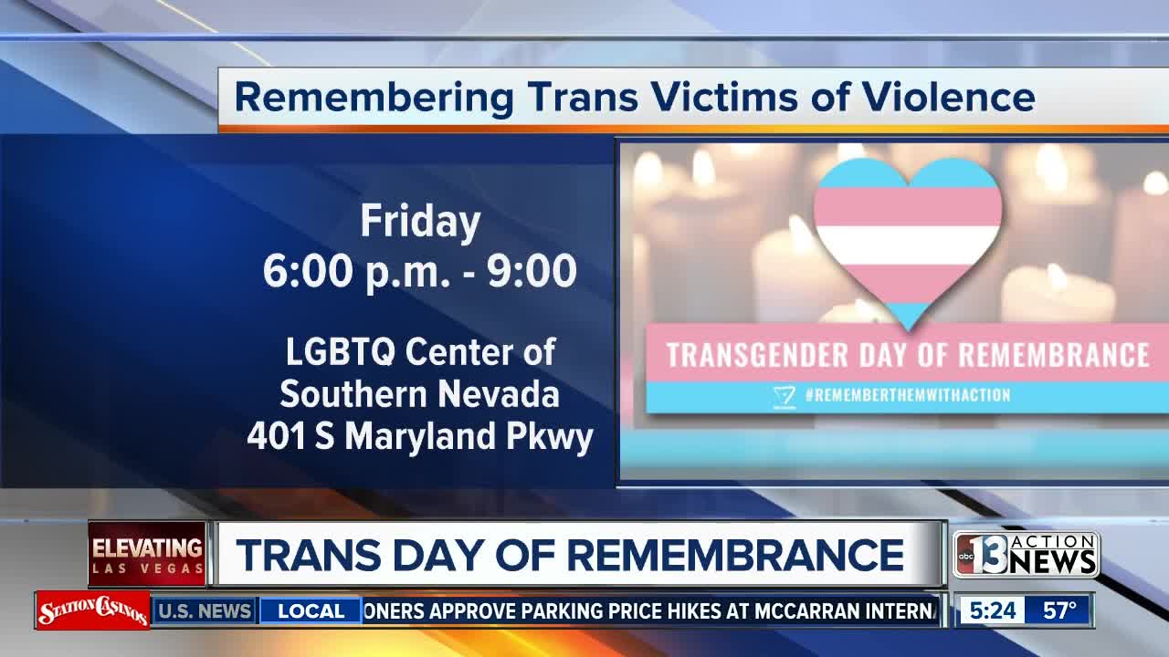 Remembering trans victims of violence in Las Vegas