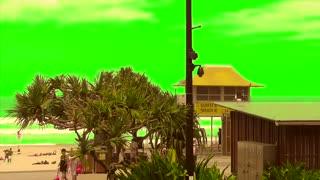 Green Screen Surfers Paradise Golden Beach