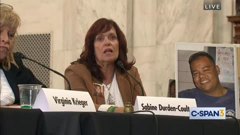 Sabine Speaks at the DC roundtable discussion with Senators Ron Johnson, Rick Scott and Rob Portman
