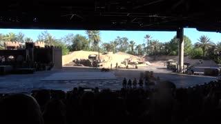 The Indiana Jones Stunt Spectacular at Disney Hollywood Studios