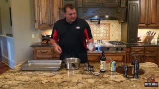 How to Smoke Beef Brisket Using RECTEQ (Rectec) 590 Pellet Grill / Smoker
