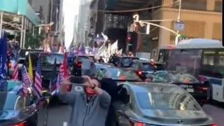 New York is awake - Trump Rally