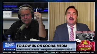 Steve Bannon and Mike Lindell Go Off on RNC for Ignoring Election Fraud