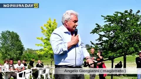 NO PAURA DAY 22, Cesena 8/5/2021, intervento di Angelo Giorgianni (magistrato)