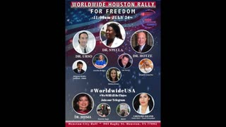 Join Me At the Houston Worldwide Rally for Freedom on July 24!