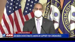 Joe Biden overestimates American support for coronavirus package
