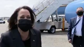 """Kamala Harris Laughs And Says """"Not Today"""" When Asked If She Will Visit Border"""