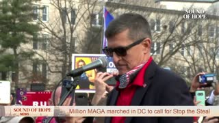 General Flynn Speaking in Front of The Supreme Court