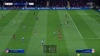 Liverpool Atletico Madrid second leg