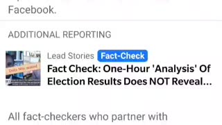 Fact Check = Thought Police