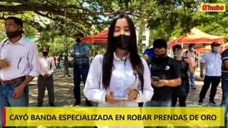 Video: Desmantelan banda dedicada al robo de joyas en Bucaramanga