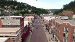 Deadwood South Dakota Main Street