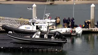 Three dead after boat capsizes off San Diego